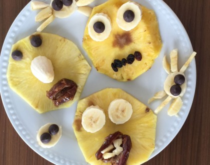 Spooky Fruits for a Healthy Halloween!