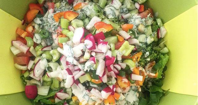 Super Salad with Grilled Chicken