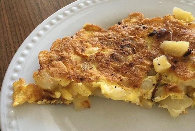5-min Spanish Tortilla